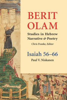 Berit Olam: Isaiah 56-66