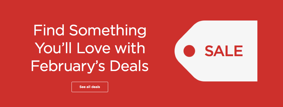 Finding something you'll love with February Deals