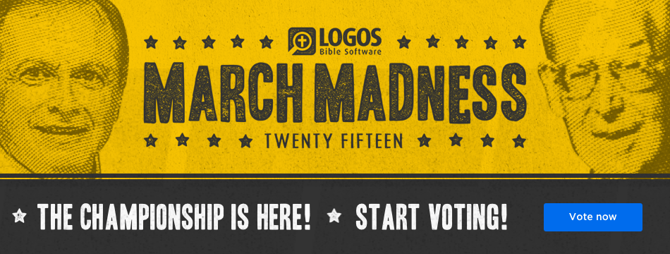 Logos March Madness is here! Start voting now!