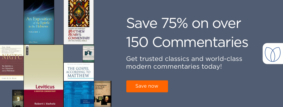 Save 75% on over 150 commentaries. Get trusted classes and world-class modern commentaries today!