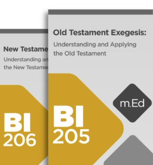 Mobile Ed: Biblical Exegesis Bundle