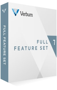 Verbum 7 Full Feature Set