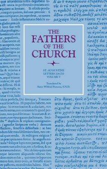 Saint Augustine: Letters: vol. V (204–270)