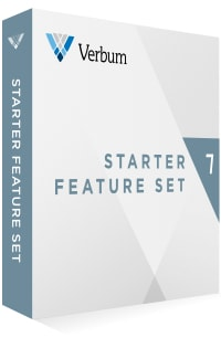 Verbum 7 Starter Feature Set