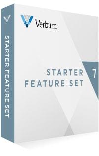 Verbum 7 Starter Feature Set