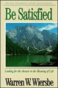 Be Satisfied (Ecclesiastes)