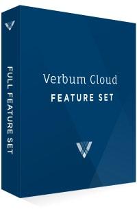 Verbum Cloud Feature Set
