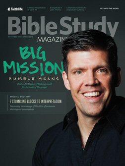Bible Study Magazine—November–December 2016 Issue