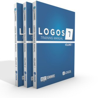 MP Seminars: Logos 7 Training Manual Volumes 1–3 (Digital)