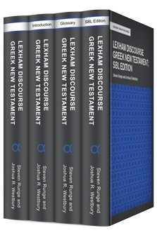 Lexham Discourse Greek New Testament Datasets (4 vols.)