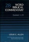 Word Biblical Commentary, Volume 28: Ezekiel 1–19