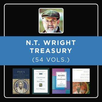 The N.T. Wright Treasury (54 vols.)