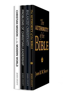 John Stott on Christianity (4 vols.)