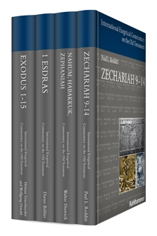 International Exegetical Commentary on the Old Testament (4 vols.)