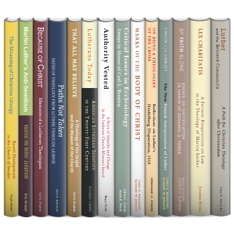 Eerdmans Lutheran Thought and History Collection (14 vols.)