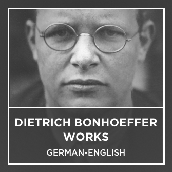 Dietrich Bonhoeffer Works German-English (34 Vols.)