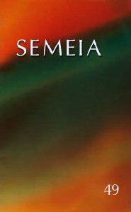Semeia 49: The Apocryphal Jesus and Christian Origins
