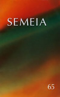 Semeia 65: Orality and Textuality in Early Christian Literature
