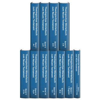 Theologisches Wörterbuch zum Neuen Testament (ThWNT) (Kittel) (10 Bde.)