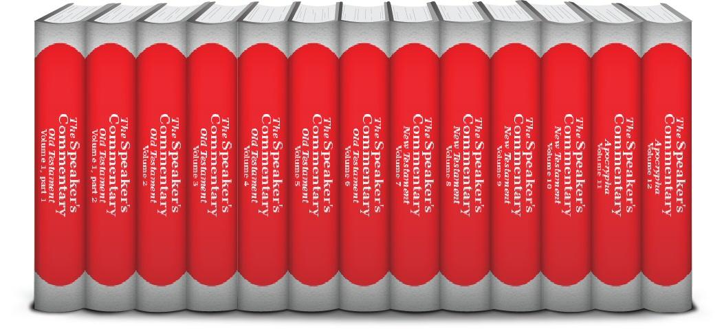 The Speaker's Commentary (13 vols.)