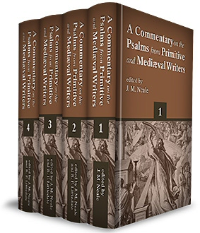 Commentary on the Psalms from Primitive and Mediæval Writers (4 vols.)