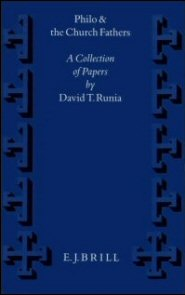 Philo and the Church Fathers: A Collection of Papers
