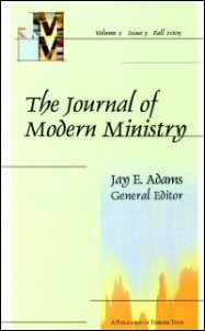 Journal of Modern Ministry, Vol. 2 Issue 3 Fall 2005