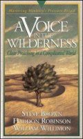 Pressure Points: A Voice in the Wilderness