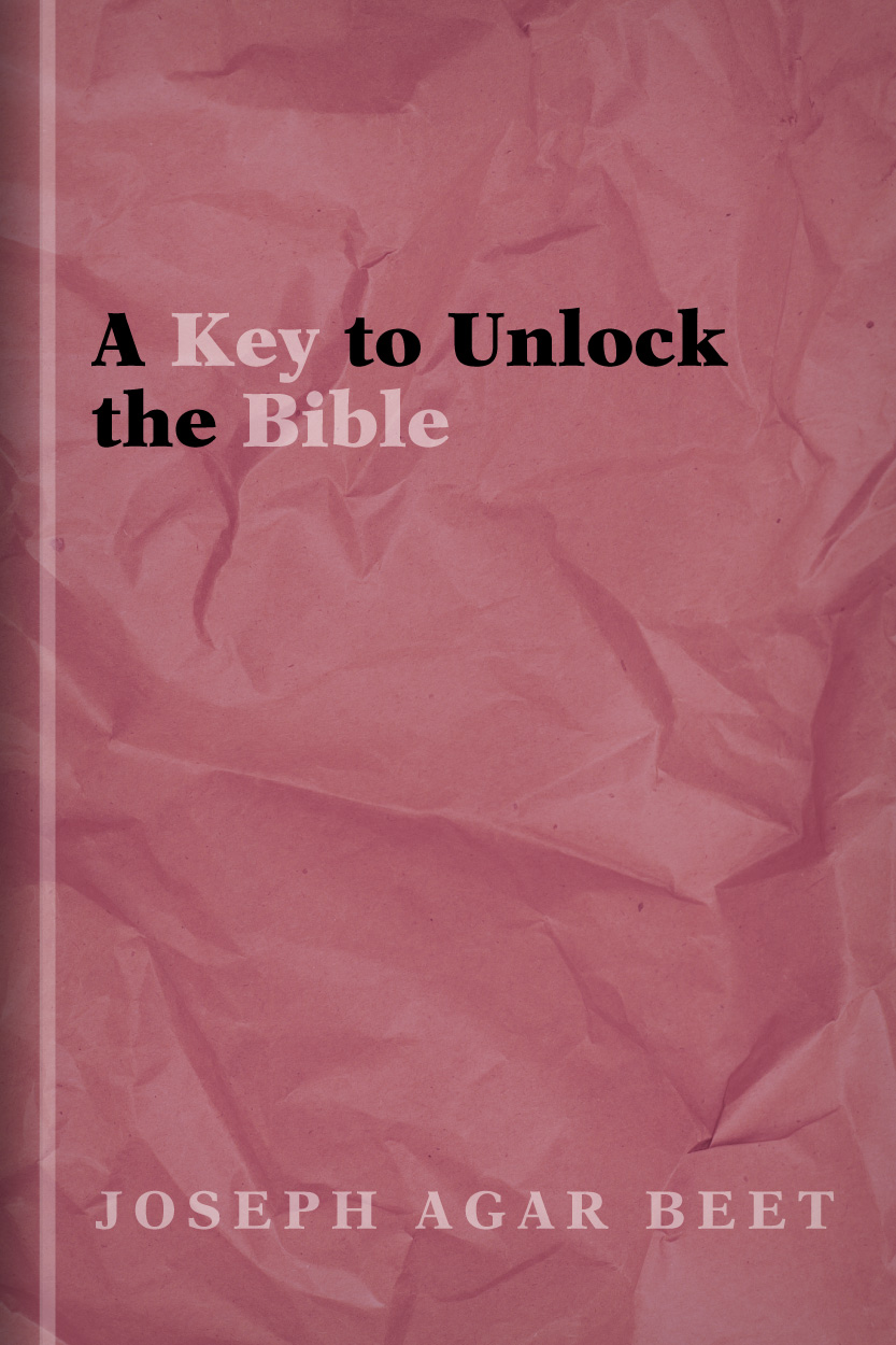 A Key to Unlock the Bible