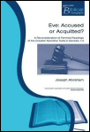 Eve: Accused or Acquitted? A Reconsideration of Feminist Readings of the Creation Narrative Texts in Genesis 1–3