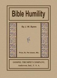 Bible Humility