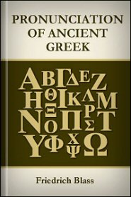 Pronunciation of Ancient Greek