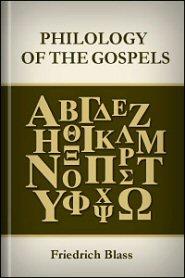 Philology of the Gospels