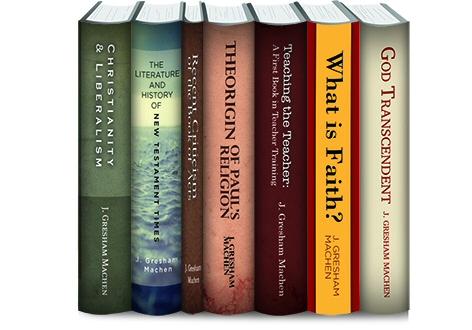 J. Gresham Machen Collection (7 vols.)