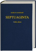 Septuaginta: SESB Edition with Apparatus and Alternate Texts