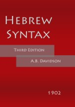 Hebrew Syntax (Third Edition)