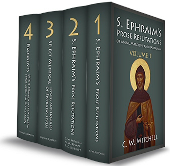 The Works of St. Ephraim (4 vols.)