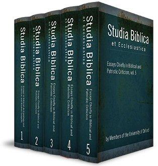 Studia Biblica (5 vols.)