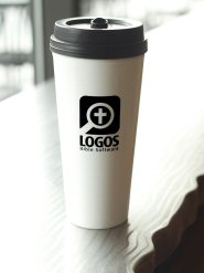 """I Am Not a Venti Cup""–Style Logos Cup"