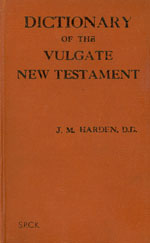 Dictionary of the Vulgate New Testament