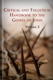 Critical and Exegetical Handbook to the Gospel of John, vol. 2