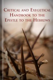 Critical and Exegetical Handbook to the Epistle to the Hebrews