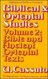 Biblical and Oriental Studies, vol. 2