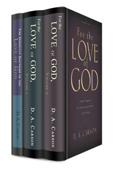 "D.A. Carson ""Love of God"" Collection (3 vols.)"