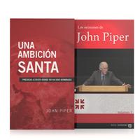 Sermones de John Piper y Una ambición santa (225 sermones, 3 vols.)