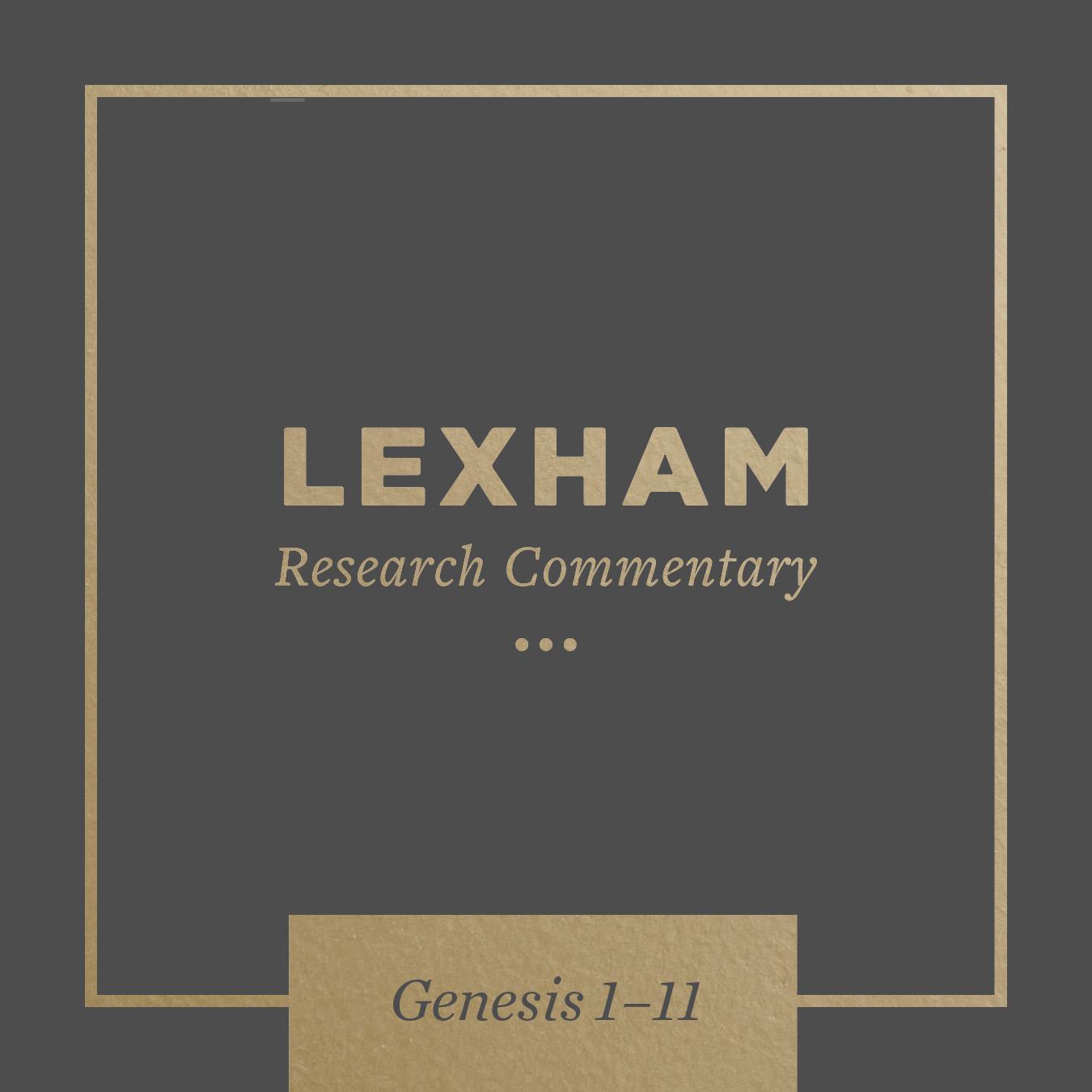 Lexham Bible Guide: Genesis 1–11
