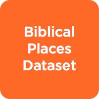 Biblical Places Dataset