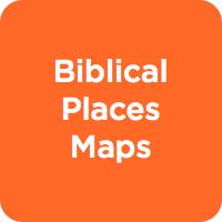 Biblical Places Maps