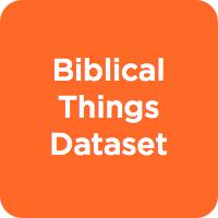 Biblical Things Dataset