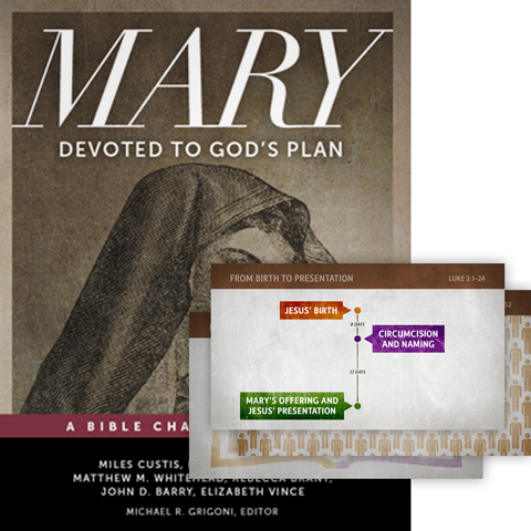 Mary: Devoted to God's Plan: Complete Church Curriculum for Leaders and Pastors